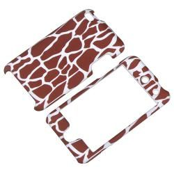 Giraffe Snap on Rubber Coated Case for Apple iPod Touch 4th Generation