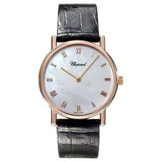 Chopard Classique Mens 18k Rose Gold Watch