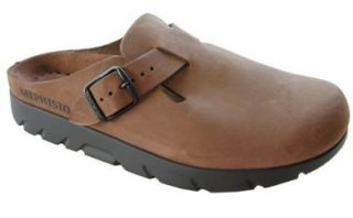 $215 Mephisto Mens Zaverio Fit Brown Sandals Shoes US 7 Shoes