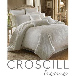 Croscill Isabella Ivory 3 piece Queen size Comforter Set
