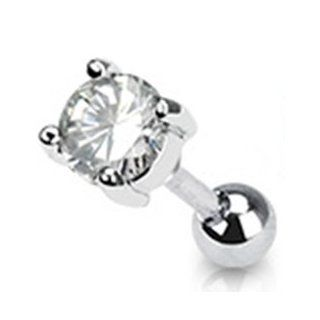 16g Surgical Steel Cartilage Earring Stud Body Jewelry Piercing with
