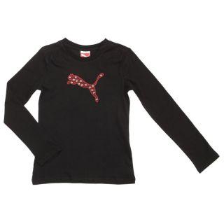 PUMA Tee shirt Fille Noir, rouge et or   Achat / Vente T SHIRT PUMA