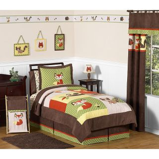 Sweet JoJo Designs Forest Friends 3 piece Full/ Queen Bedding Set