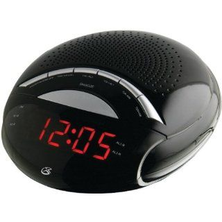 GPX C222B DUAL ALARM DIGITAL AM/FM CLOCK RADIO   C222B