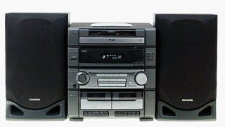 Aiwa Z R222 Compact Stereo System Electronics