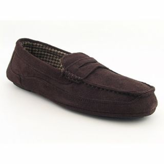 Izod Mens Sam Brown Slipper Shoes