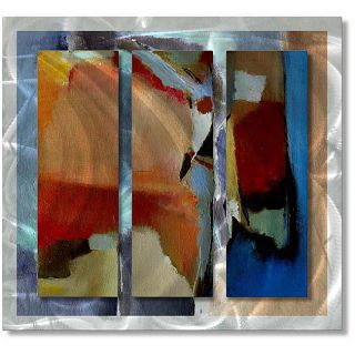 Ruth Palmer Blocky Bold Metal Wall Art