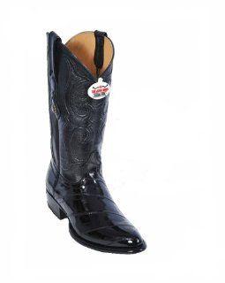 Los Altos Black Eel Cowboy boots Shoes