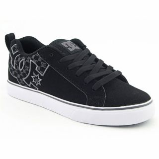 DC Shoe CO USA Mens Court Vulc SE Black/Battleship Skate Shoes