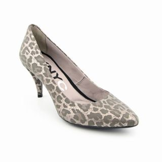 DKNYC Womens Juli Silvere Pumps Shoes (Size 8)