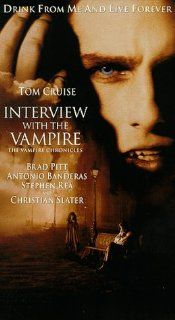 Interview With the Vampire [VHS] Brad Pitt, Tom Cruise