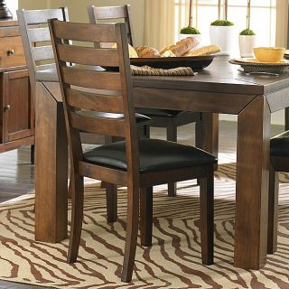 ETHAN HOME Luke Brown Side Chairs (Set of 2) Today $179.99 Sale $161