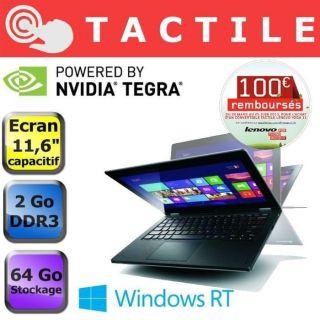 Lenovo IdeaPad Yoga 11 (MAS24FR)   Achat / Vente ORDINATEUR PORTABLE