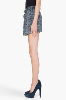 Iro Grey Silk Zana Skirt for women