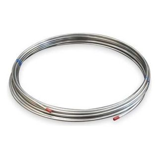 Approved Vendor 3ADC9 Coil Tubing, Welded, 3/8 In, 50 ft, 304 SS