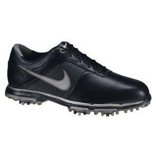 Nike Mens Lunar Control Black/ Silver/ Black Golf Shoes