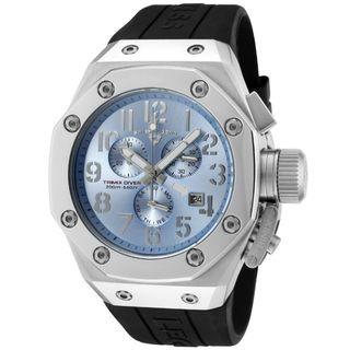 Swiss Legend Mens Trimix Diver Black Silicone Watch