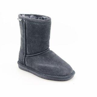 Bearpaw Emma Girls Gray Charcoal Winter Boots