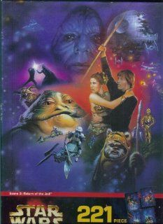 Star Wars 221 pc. Mural Puzzle Return of the Jedi Toys
