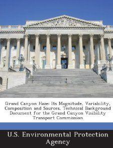 Grand Canyon Haze Its Magnitude, Variability, Composition