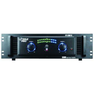 Pyle Pro PT2001X 3300 Watt Professional DJ Power Amplifier