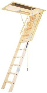 Werner WH2210 350 Pound Duty Rating Wood Folding Heavy Duty Attic