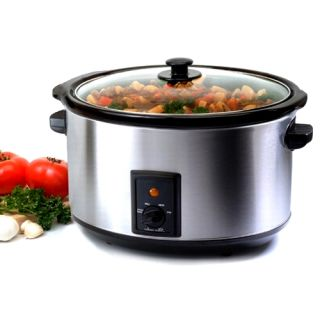 Stainless Steel 8.5 quart Slow Cooker