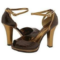 Enzo Angiolini Andriana Dark Brown/Gold