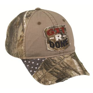 Larry The Cable Guy Camo Flag Hat