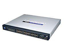 Cisco SRW224P 24 port 10/100 + 2 port Gigabit Switch