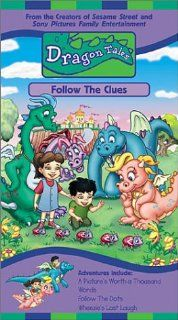 Dragon Tales   Follow the Clues [VHS] Andrea Libman