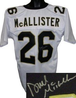 Deuce McAllister Autographed/Hand Signed New Orleans