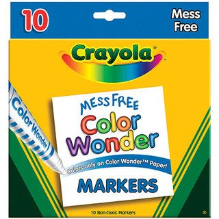 Crayola Color Wonder Broad Line Markers