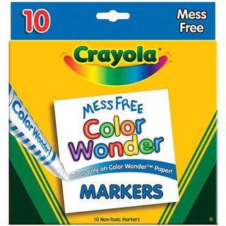 Crayola Color Wonder Broad Line Markers