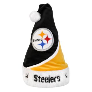 Pittsburgh Steelers Polyester Santa Hat