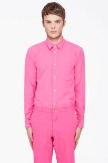 Comme Des Garçons Homme Plus Pink Ester Broad Shirt for men