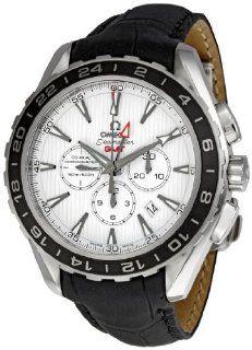 Omega Mens 231.13.44.52.04.001 Aqua Terra Chronograph Watch Watches