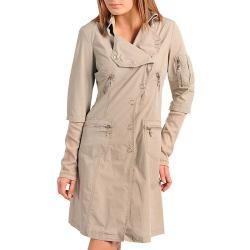 Stanzino Womens Stylish Taupe Coat