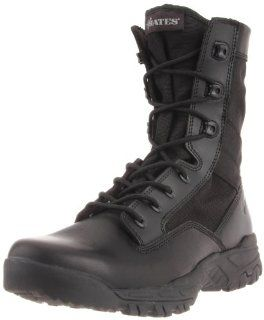 Bates Mens Zero Mass 8 Inches Side Zip Work Boot Shoes