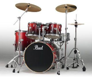 Pearl Vision Birch VBX925F/C232 Drum Kit, Ruby Fade
