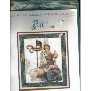 Counted Cross Stitch. The Maiden and the Unicorn. Design Number 227