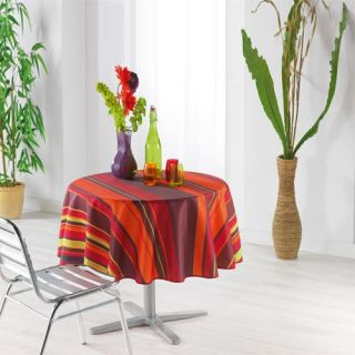 180   Achat / Vente NAPPE DE TABLE Nappe orange diam 180