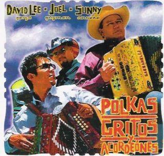 David Lee Garza/Joel Guzman/Sunny Sauceda   Polkas, Gritos Y
