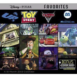 (11x12) Pixar Favorites   2013 Wall Calendar Home