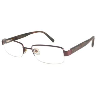 Michael Kors Readers Mens MK484M Brown Rectangular Reading Glasses