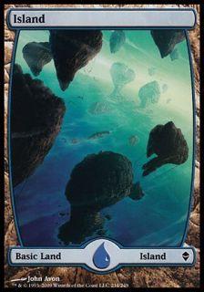 Magic: the Gathering   Island (234)   Zendikar: Toys & Games