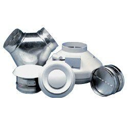Nutone ILFK2502 6 250 CFM In Line Fan/Grille Kit (Includes Y adaptor