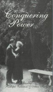 Conquering Power,the [VHS] Alice Terry, Rudolph Valentino