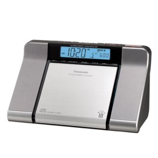 Panasonic RC CD350 CD/AM/FM/Weather Clock Radio
