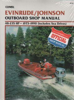 Manual   Johnson/Evinrude 48   235 HP Ouboards   Par